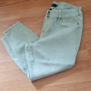 Torrid 22 short skinny crop jeans